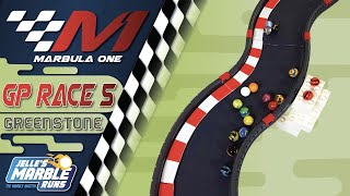 Marbula One: Greenstone GP (S1R5) - Marble Race by Jelle's Marble Runs