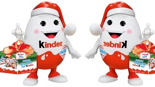 Bóc Trứng Sô Cô La Kinder Khổng Lồ
