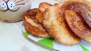 Гренки / Сладкие гренки к завтраку / Быстрый завтрак