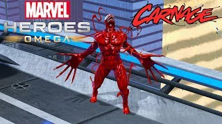 Marvel Heroes Omega CARNAGE PC Test Center Gameplay and Overview