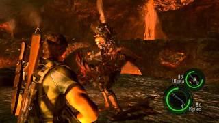 Resident Evil 5 Co-op - Часть 43 (6-3): Финальный Бой
