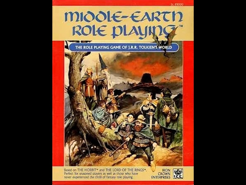 Middle Earth Role Playing MERP Character Creation & Development