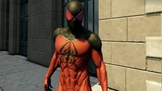 The Amazing Spider-Man 2 - Scarlet Spider Suit Unlocked + Gameplay