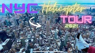 HELICOPTER TOUR NYC 2021  HD 1080p