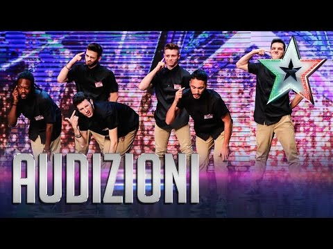 Nerd Force: la rivincita dei veri nerd | Italia's Got Talent 2015