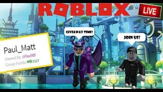 🔴​​ LIVE🔴 | ROBLOX | Robux Giveaway & Playing Roblox Games! | Join us! #ROADTO850