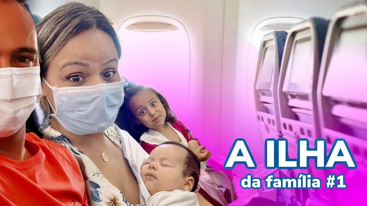 PRIMEIRA VIAGEM DE AVIAO DO LIAN: A ILHA DA FAMILIA #1