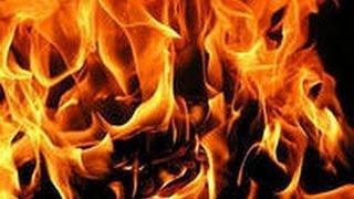 !!!Как красиво горит огонь!!!