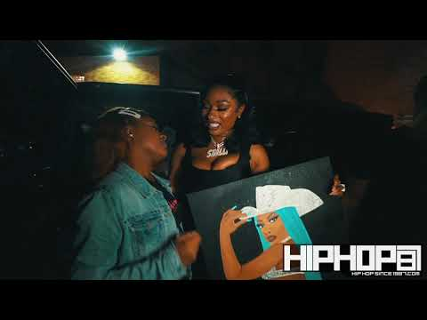 MEGAN THE STALLION ROC NATION SIGNING PARTY IN JERSEY! (HHS1987 Exclusive)