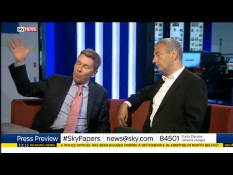 Sky News Press Preview: Kevin Maguire & Andrew Pierce discuss Greece