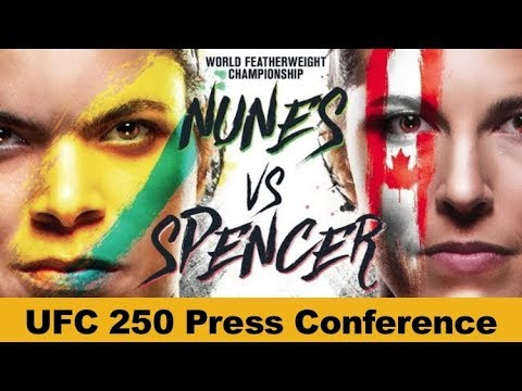 UFC 250 Press Conference: Amanda Nunes vs Felicia Spencer  | LIVE
