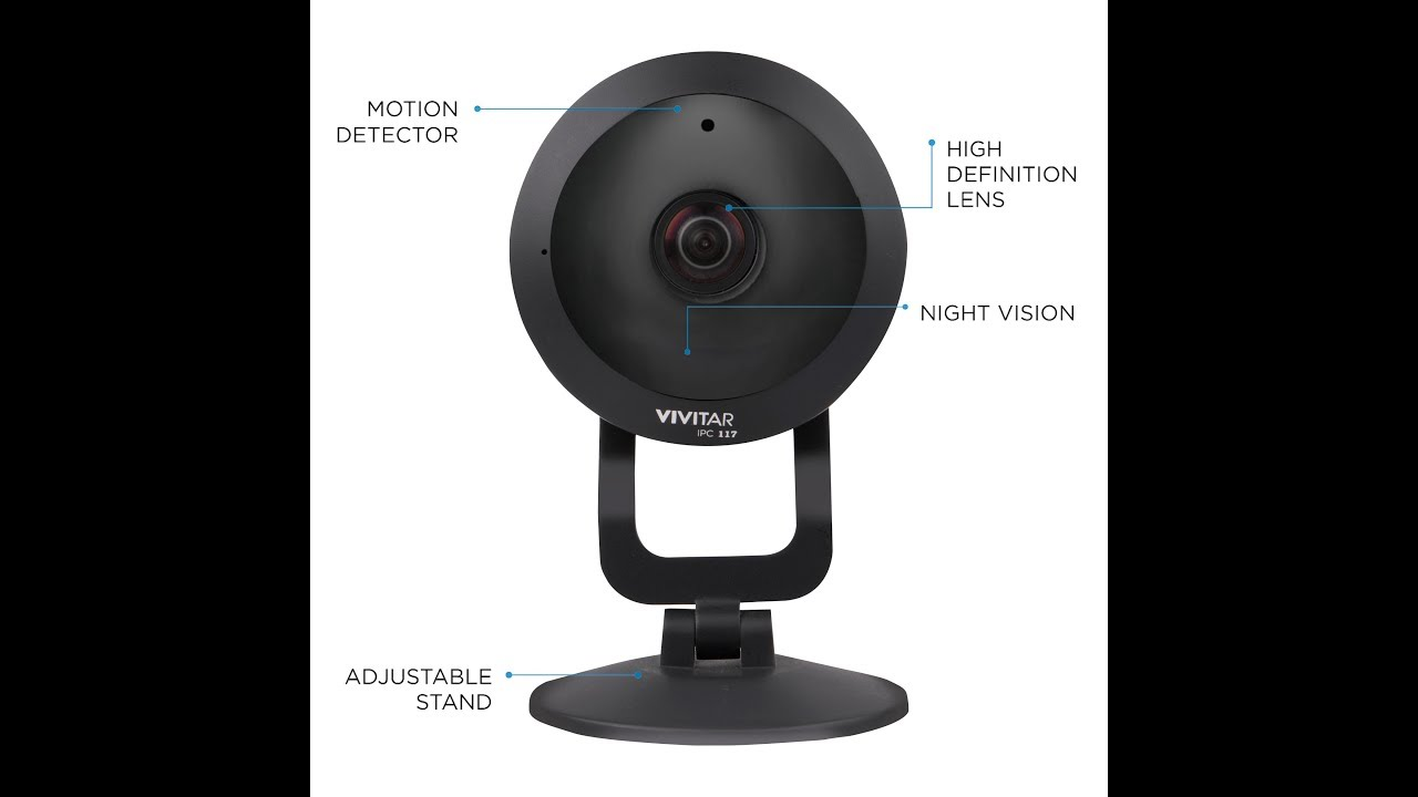 Using your Vivitar IPC117 360 View Wi-Fi Security Camera