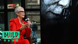 "Jamie Lee Curtis Talks The ""Halloween"" Sequel"