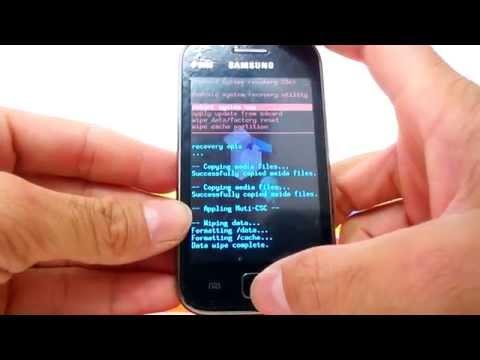 Como Formatar Samsung Galaxy Ace S6802 || Hard Reset, Desbloquear. G-Tech