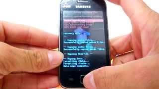 Como Formatar Samsung Galaxy Ace S6802    Hard Reset, Desbloquear. G-Tech