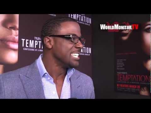 Lance Gross, Robbie Jones ed at Tyler Perry's Temptation Atlanta Screening