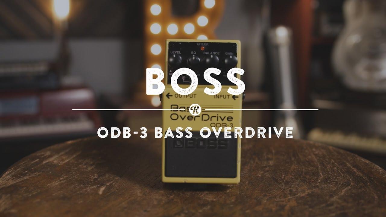 boss odb 3 bass overdrive reverb demo video youtube. Black Bedroom Furniture Sets. Home Design Ideas