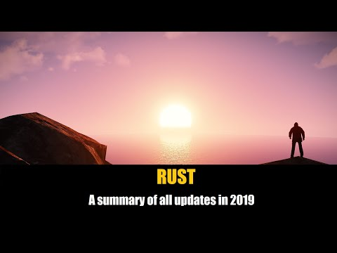 Rust - A Summary Of All Updates In 2019