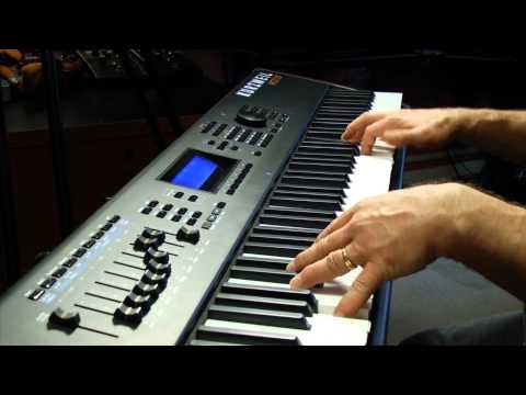 Kurzweil PC3K Production Station Keyboards Overview   Full Compass