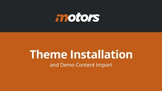 Motors Wordpress Theme Review & Demo | Car Dealer, Rental & Classifieds WordPress theme | Motors Price & How to Install