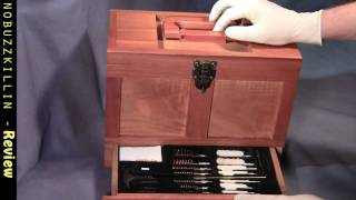Outers 25 Piece Universal Wood Gun Cleaning Tool Box - Review