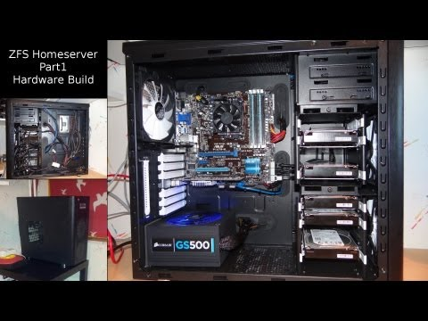 ZFS NAS Homeserver Part 1: Hardware build