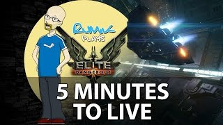 Elite Dangerous: 5 MINUTES TO LIVE! (Viper canopy breached gameplay)