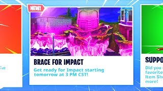 New CUBE IMPACT Event! Fortnite HUGE HALLOWEEN UPDATE Leaked! (Fortnite Battle Royale)