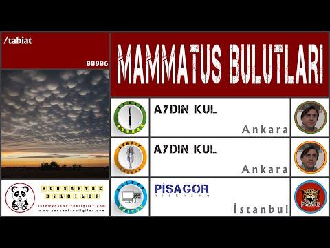 Büyüleyici Doğa Olayı: Mammatus Bulutları