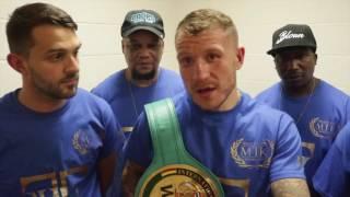 JASON WELBORN STUNS PREVIOUSLY UNBEATEN MARCUS MORRISON TO PICK WBC INTERNATIONAL TITLE
