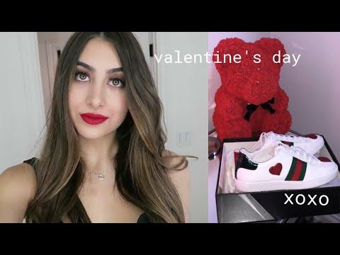 VALENTINES DAY WITH MY BOYFRIEND | Nicolette Gray
