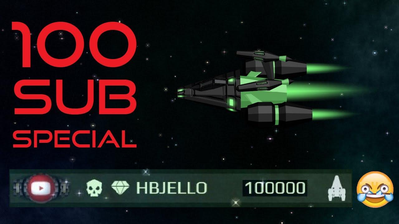 100,000 Points in Starblast.io Vanilla Team-Mode! (100 Sub Special!)