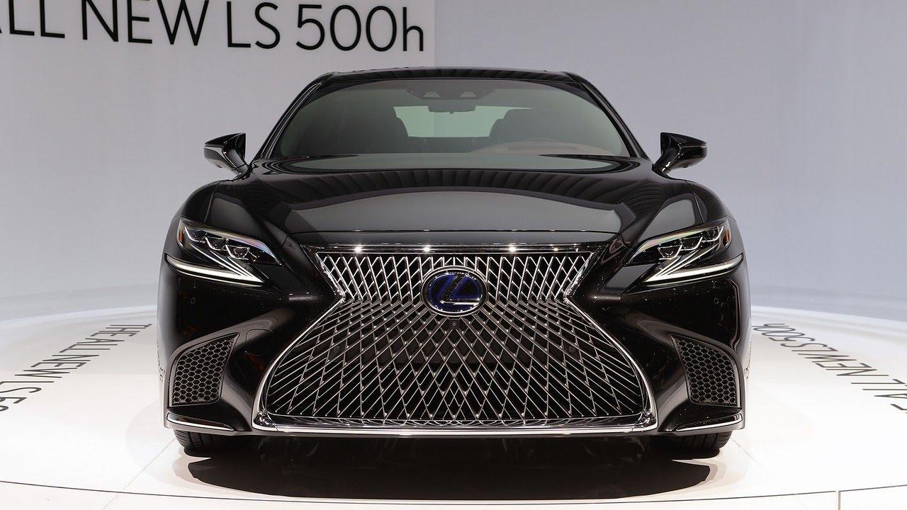 2018 Lexus Ls500h The Sophisticated Sedan For The Younger: Wow New 2018 Lexus LS 500h Hybrid V6 Makes V8 Power