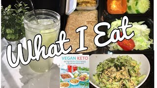 WHAT I EAT IN A DAY FOR WEIGHT LOSS | EASY KETO / VEGAN MEALS