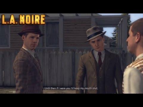 A Slip of the Tongue - L.A. Noire - DLC Case #2