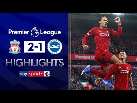 Liverpool seal nervy win after Alisson red card | Liverpool 2-1 Brighton | Premier League Highlights