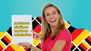 Arbeite mit deinem Computer auf Deutsch! (Speichern, drucken, kopieren, einfügen usw.)