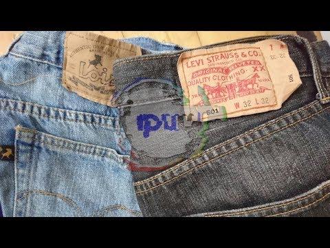 Melihat Lebih Dekat Celana Levi's 501 Original dan Celana Lois Jeans