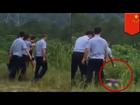 Policía china le dispara en la cabeza en tres ocasiones a un criminal convicto