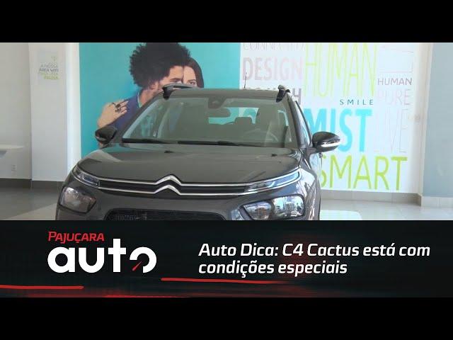 Auto Dica: C4 Cactus está com condições especiais na La Cité Citroën