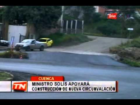 Ministro Solís apoyará construcción de nueva circunvalación