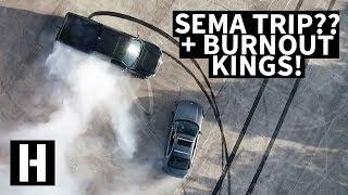 SEMA Giveaway, Burnout Kings Winner, And More!