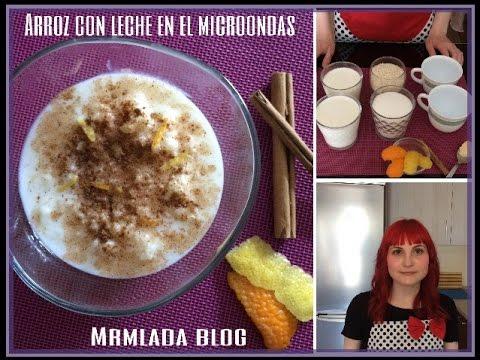 Arroz con leche al microondas doovi - Bizcocho microondas isasaweis ...