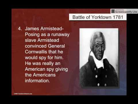 Yorktown & Treaty of Paris 1783