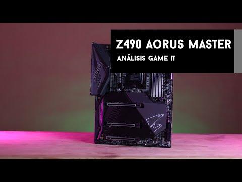 Z490 Aorus Master #review y unboxing en español |GameIt ES