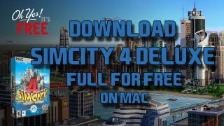 Download Simcity 4 Rush Hour Deluxe Full for Free [Mac]