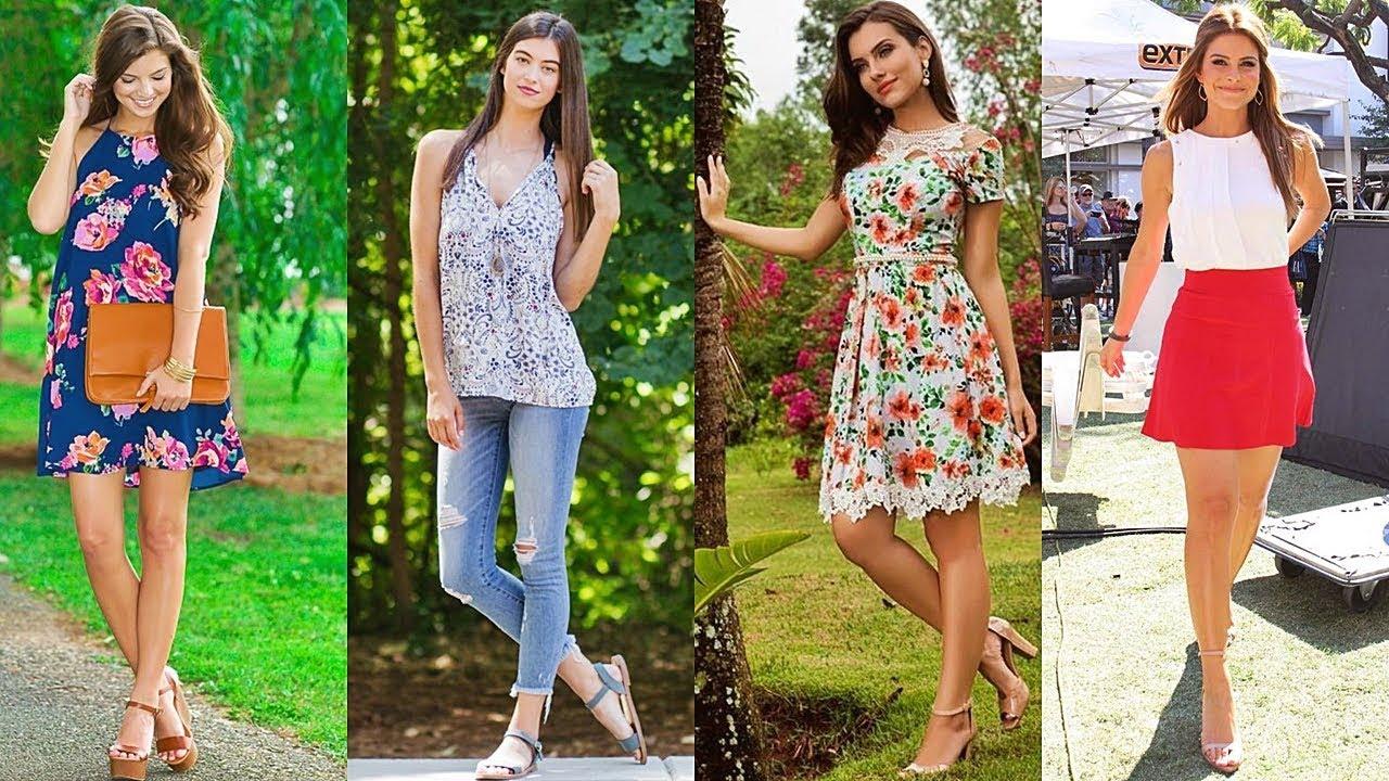 Moda 2018 combinaci n de ropa para chicas youtube Modelos de locales de ropa