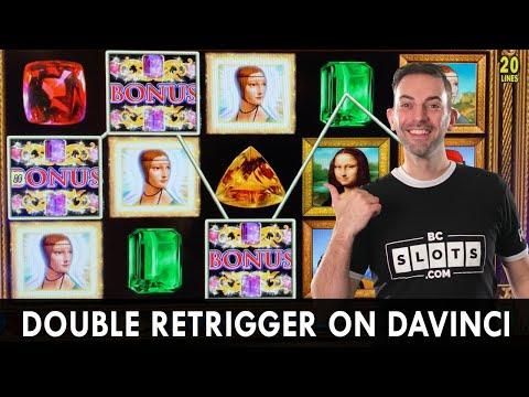💎 Double Retrigger Davinci Diamonds Bonus 💎 Howling High Limit Bets 🐺 Fiery Screaming Links Spins🔥