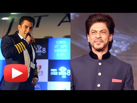 Bigg Boss 8 - Salman Khan Invites Shahrukh Khan - Happy New Year