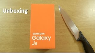 samsung galaxy j5 unboxing first look